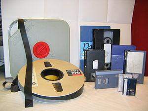 almacenamiento analógico de sonido y vídeo