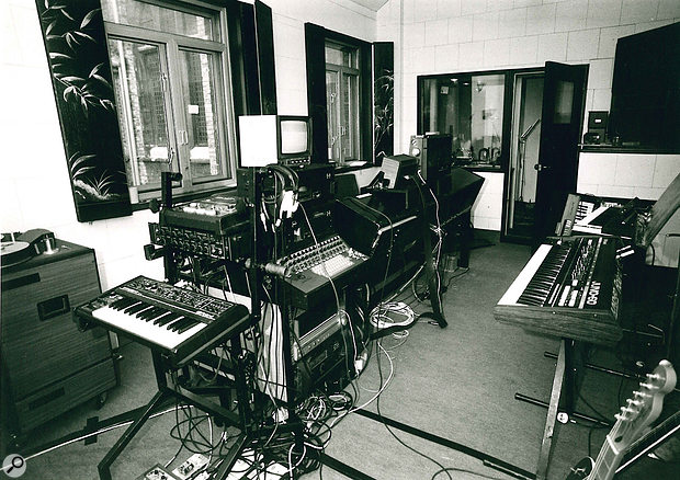 analizando sweet dreams de eurythmics La sala de control de The Church Studios