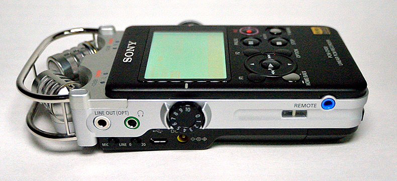 Grabadora Portátil SONY PCM-D100