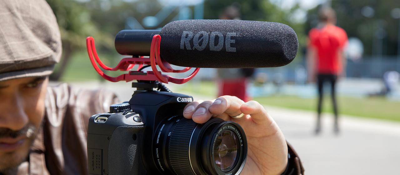 Accesorio de micrófono para cámara réflex