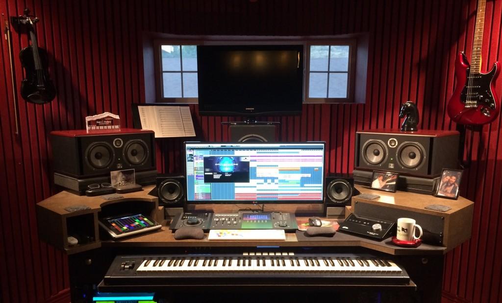 el sonido en un home studio
