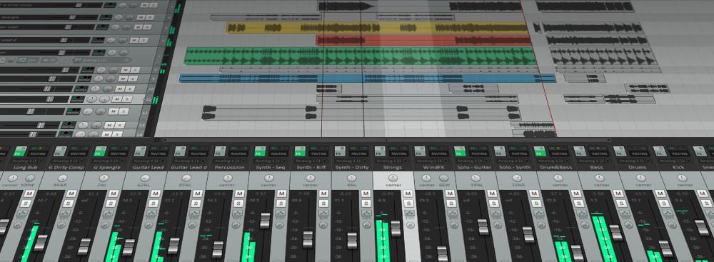 Programa de edición de sonido Reaper