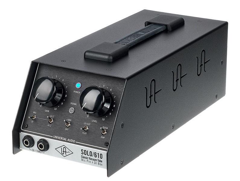 Previo Universal Audio Solo 610
